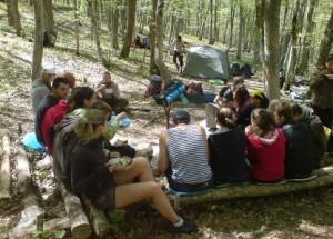отдых на палатках киев