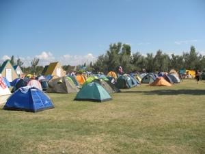 палаточный городок